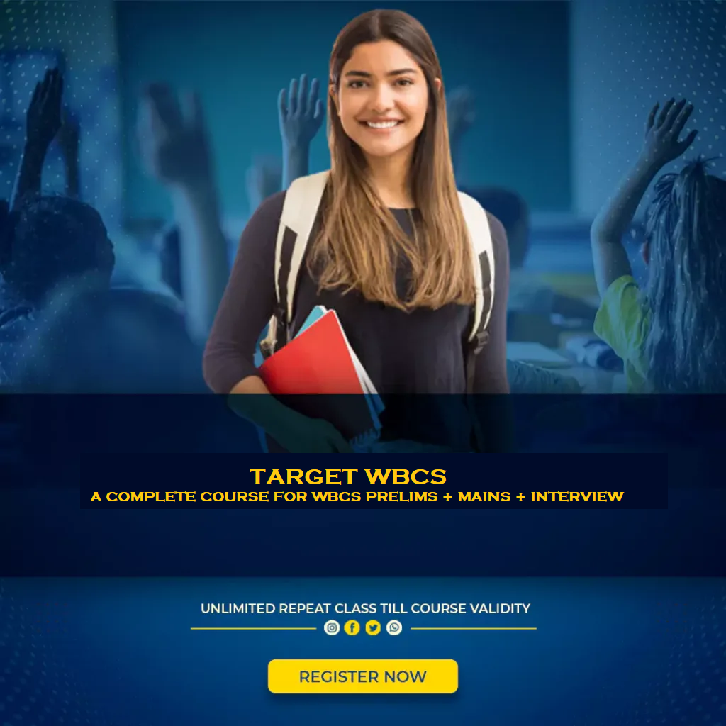 Target WBCS - A complete course for all WBPSC Exams